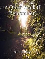 A Quiet Walk (I Remember)