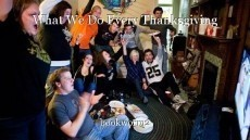 What We Do Every Thanksgiving