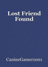 Lost Friend Found