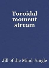 Toroidal moment stream