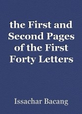 the First and Second Pages of the First Forty Letters of Paul