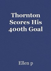 Thornton Scores His 400th Goal