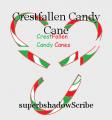 Crestfallen Candy Cane