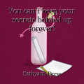 You can't keep your secrets bottled up forever!
