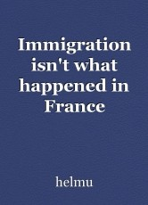 Immigration isn't what happened in France