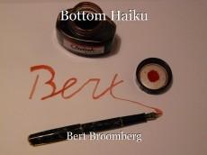 Bottom Haiku