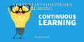 A CONSULTANT'S CONTINUOUS LEARNING.