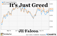 It's Just Greed