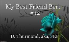 My Best Friend Bert - #12