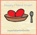 Empty Plated Heart