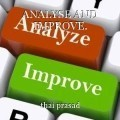 ANALYSE AND IMPROVE.
