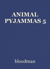 ANIMAL PYJAMMAS 5
