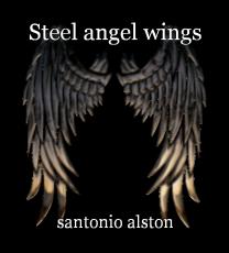 Steel angel wings