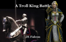 A Troll King Battle