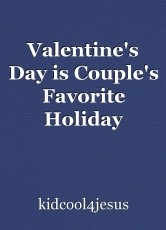 Valentine's Day is Couple's Favorite Holiday