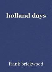holland days