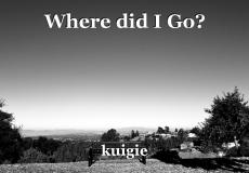 Where did I Go?