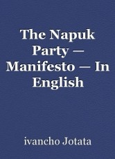 The Napuk Party — Manifesto — In English