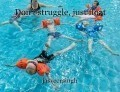 Don't struggle, just float
