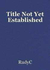 Title Not Yet Established