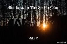 Shadows In The Setting Sun