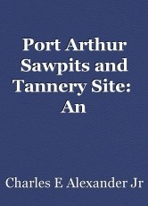 Port Arthur Sawpits and Tannery Site:  An Examination of Site Formation Processes