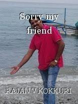 Sorry my friend