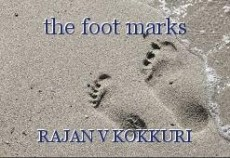 the foot marks