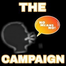 The ????NO MEANS NO! Campaign.
