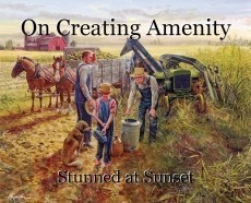 On Creating Amenity