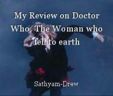 My Review on Doctor Who: The Woman who fell to earth