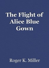 The Flight of Alice Blue Gown