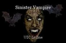 Sinister Vampire