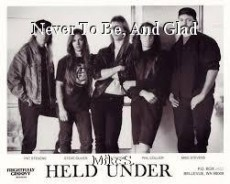 Never To Be, And Glad