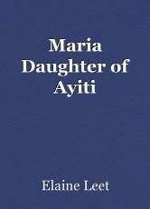 Maria Daughter of Ayiti