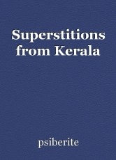 Superstitions from Kerala