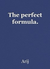 The perfect formula.