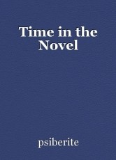 Time in the Novel