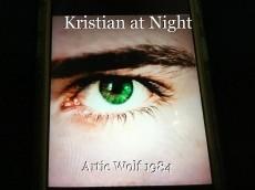 Kristian at Night