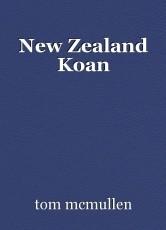 New Zealand Koan
