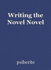 Writing the Novel Novel