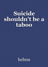 Suicide shouldn't be a taboo