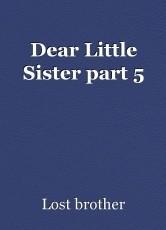 Dear Little Sister part 5