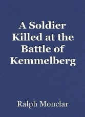 A Soldier Killed at the Battle of Kemmelberg