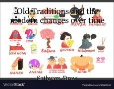 Old Traditions and the modern changes over time