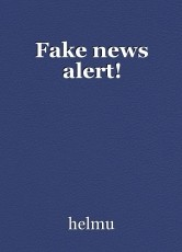 Fake news alert!