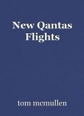 New Qantas Flights