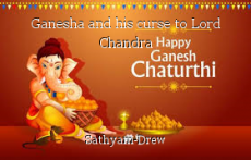 Ganesha and his curse to Lord Chandra