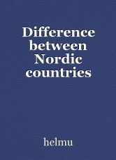 Difference between Nordic countries