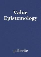 Value Epistemology